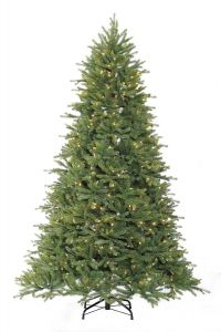 Puleo 6ft Asheville Fir- Green Pre-lit