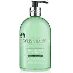 Aloe, Tea Tree & Lime Hand Wash 500ml - Baylis & Harding