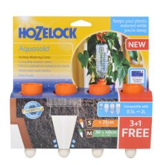 "Hozelock Aquasolo 3 Cones + 1 FOC (Orange-pots up to 10"")"