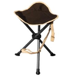 Quest Autograph Devon Stool & Foot Rest - Black & Grey