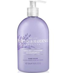 English Lavender and Chamomile Hand Wash 500ml - Baylis and Harding