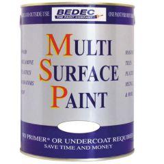 Bedec Multi Surface Paint Soft Satin Violet 750ml