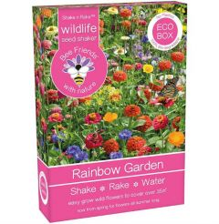 Bee Friends Rainbow Garden Seed Shaker 15g