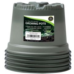 Worth Gardening Bio-Based Growing Pots 13cm