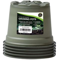 Worth Gardening Bio-Based Growing Pots 9cm