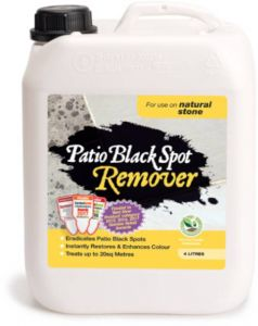 Patio Black Spot Remover - For Use On Natural Stone - 4 Litres