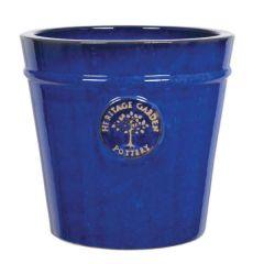 Woodlodge Blue Heritage Pot 50cm