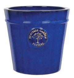 Woodlodge Blue Heritage Pot 27cm