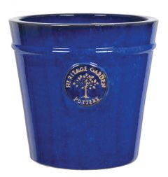 Woodlodge Blue Heritage Pot 20cm