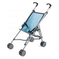 Folding Umbrella Stroller Blue - dollsworld