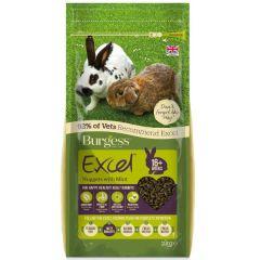 Burgess Excel Rabbit Adult 2kg