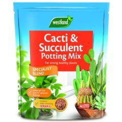 Westland cacti & succulent potting mix 4L bag