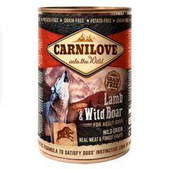 CarniLove Lamb & Wild Boar Adult Dogs 400g