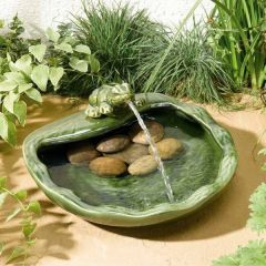 Ceramic Frog Fountain - Smart Garden