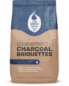GreenOlive Long Burn Charcoal Briquettes - 8KG