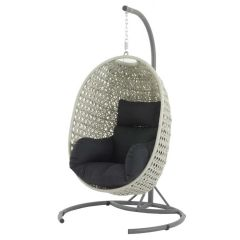Chatsworth Single Hanging Cocoon With Cushions (3 Parts Included)