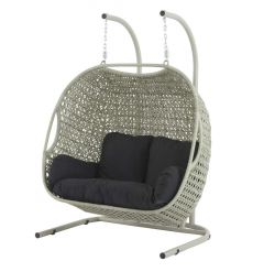 Chatsworth Double Hanging Cocoon With Cushions (3 Parts Included)