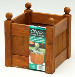 "AFK Classic Planter (12"")  315mm - Beech stain"