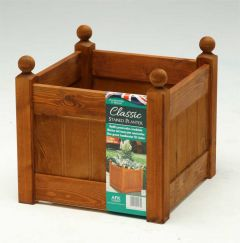 "AFK Classic Planter (15"")  390mm - Beech stain"