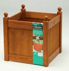 AFK Classic Planter 460 460mm - Beech stain