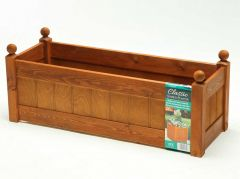 "AFK Classic Trough (34"") 870mm - Beech stain"