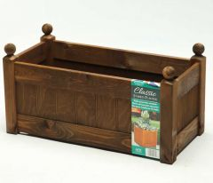 "AFK Classic Trough (26"") 660mm - Chestnut stain"