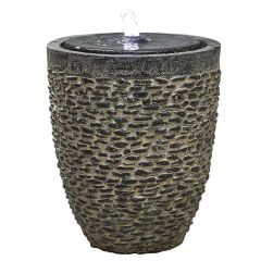 Kelkay Cobble Stone Water Feature Including LEDs