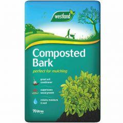 Westland Composted Bark - 70L