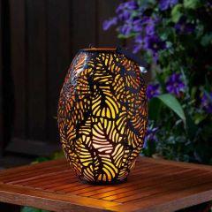 Cool Flame Silhouette Lantern - Smart Solar