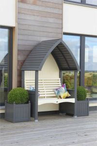 AFK Orchard Arbour  - Charcoal& Cream