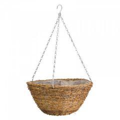 "12"" Country Rattan Basket - Smart Garden"