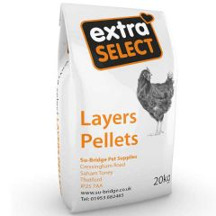 Extra Select Layers Pellets 20kg
