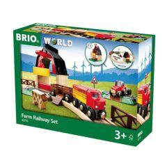 Farm Railway Set - BRIO