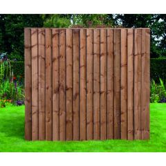 Featheredge 165 X 183cm - Brown or Green