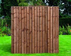 Featheredge 180 X 183cm - Brown or Green
