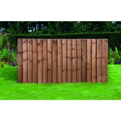 Featheredge 90 X 183cm - Brown or Green