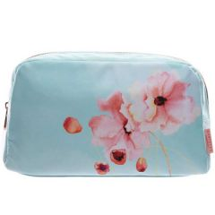 Floral Awakening Double Zip Beauty Bag