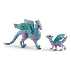 Schleich Flower Dragon and Baby