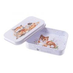 Wrendale 'Afternoon Nap' Foxes Mini Tin