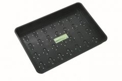 Worth Gardening XL Seed Tray Black With Holes