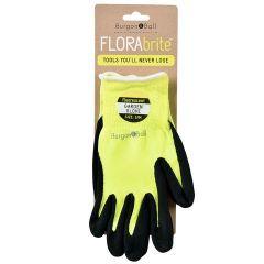 Burgon & Ball Fluores Gardening Gloves - Yellow - Medium/Large