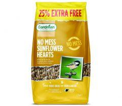 Gardman Sunflower Hearts 2kg + 25% XF