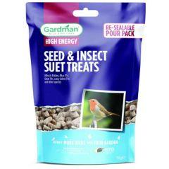 Gardman Seed & Mealworm Suet Treats 550g