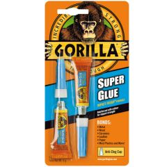 Gorilla Superglue Gel 2x3g - Gorilla Glue