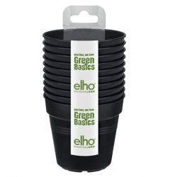 Elho Green Basics Growpot Starter Set (Set of 10) - Living Black