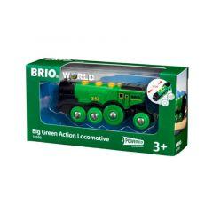 Big Green Action Locomotive - BRIO