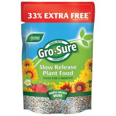 Gro Sure 6 Month Slow Release Fertiliser 1kg +33% Extra Free