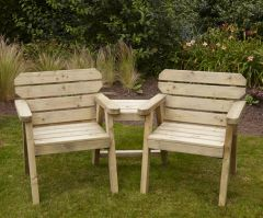 Woodshaw Hampton Companion Seat
