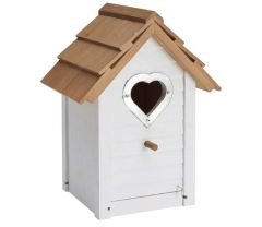 Heart Bird Nest Box