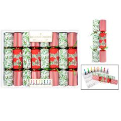 Jingle Bell Christmas Crackers 8 Pack - RSW